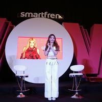 Chung Ha datang ke Indonesia untuk sapa penggemar di acara Smartfren WOW Concert 2019. (Adrian Putra/Fimela.com)