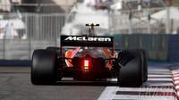 Mobil balap F1 McLaren. (Crash.net)