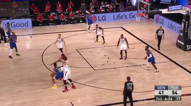 Berita Video Highlights NBA, Toronto Raptors Kalahkan Denver Nuggets 117-109