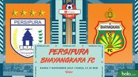 Shopee Liga 1 - Persipura Jayapura Vs Bhayangkara FC (Bola.com/Adreanus Titus)