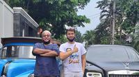 Raffi Ahmad dan Rano Karno (Instagram/si.rano)