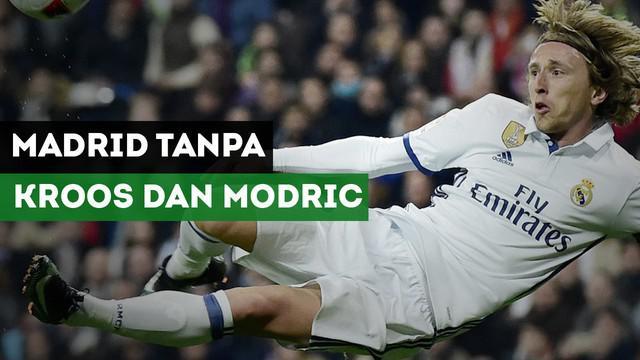 Real Madrid terancam tanpa Toni Kroos dan Luka Modric saat menghadapi Paris Saint-Germain.
