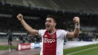 3. Dusan Tadic (Ajax) - 6 gol dan 3 assist (AFP/Aris  Messinis)