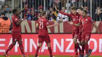 Thomas Muller tampil sebagai bintang kemenangan Bayern Munchen pada laga melawan Arsenal di Liga Champions, Kamis (5/11/2015) dini hari WIB. (uefa.com)