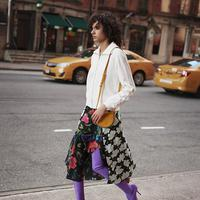 Printed Skirts Revivals - Photo: fashiongonerouge