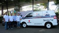 PT Suzuki Indomobil Sales (SIS) menggelar program 'Ketupat Mudik Ramadan 2019' dengan menyiapkan ratusan mobil towing