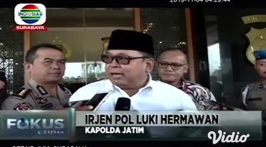 Pasca penangkapan tersangka mucikari berinisial SD, dalam kasus prostitusi online yang melibatkan seorang publik figur di sebuah hotel di kawasan Kota Batu, Jawa Timur.