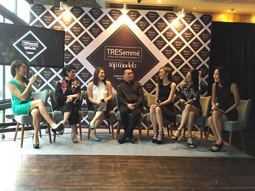 Tresemme dan para model perwakilan dari Indonesia | Photo: Copyright Doc Vemale.com