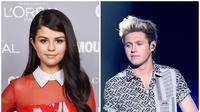 Selena Gomez dan Niall Horan (AFP/Bintang.com)