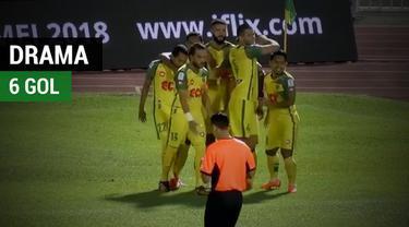 Berita video Gelandang asal Indonesia, Andik Vermansah, merasakan drama 6 gol saat membela Kedah FA di Liga Super Malaysia.