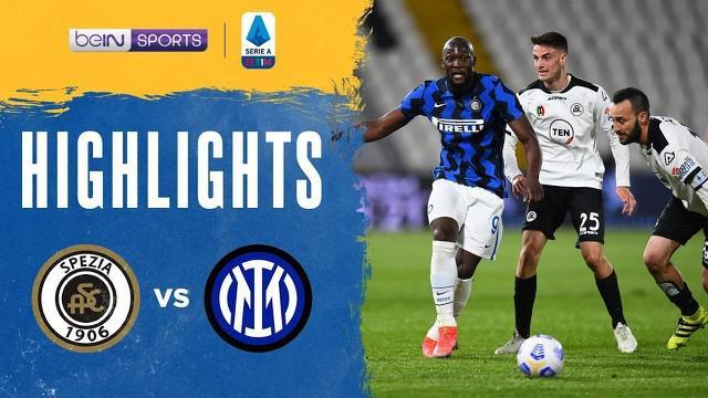 Berita Video Highlights Liga Italia, Inter Milan Bermain Imbang Melawan Spezia 1-1 (22/4/2021)