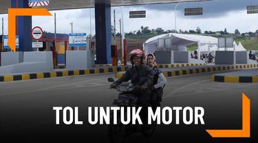 untung rugi sepeda motor masuk jalan tol