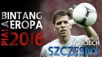 Kumpulan aksi hebat Wojciech Szczesny kiper Polandia saat mengawal gawang AS Roma di kompetisi Serie A Italia.