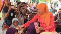 Khofifah memperingatkan agar dana bantuan Program Keluarga Harapan (PKH) tidak disalahgunakan