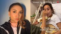 6 Potret Terbaru Salmafina Sunan yang Jalani Perawatan, Dua Organ Terinfeksi (sumber: Instagram.com/salmafinasunan dan Instagram.com/sunankalijaga_sh)