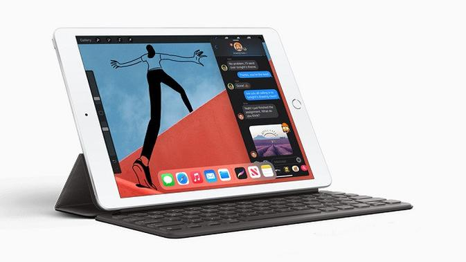 Tampilan iPad generasi kedelapan. (Dok. Apple)
