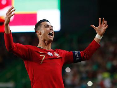 Pertandingan Portugal Vs Luksemburg