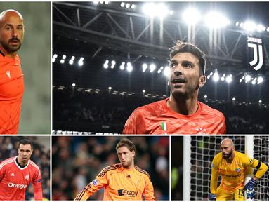 Gianluigi Buffon menjadi kiper tertua yang masih aktif bermain di Liga Champions musim ini. Berikut lima kiper usia senja yang masih eksis di kompetisi paling elite Benua Biru.