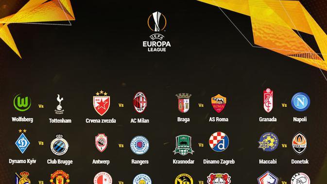 Liga Eropa : Jadwal Pertandingan Semifinal Liga Eropa ...