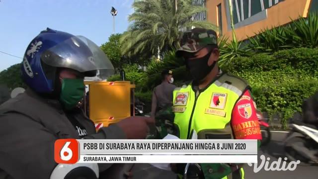 Perpanjangan PSBB dilakukan setelah para kepala daerah se Surabaya Raya dan Gubernur Jawa Timur menggelar rapat evaluasi penerapan PSBB yang sudah 2 kali diperpanjang. Pelaksanaan PSBB ketiga Surabaya berlaku tanggal 26 Mei hingga 8 Juni 2020.