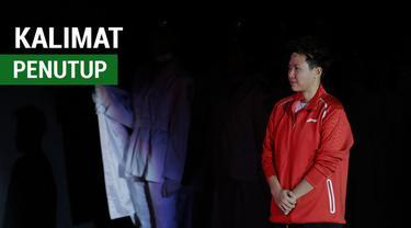 Berita video kalimat penutup dan pesan terakhir legenda Bulu Tangkis Indonesia, Liliyana Natsir, saat mengumumkan gantung raket.