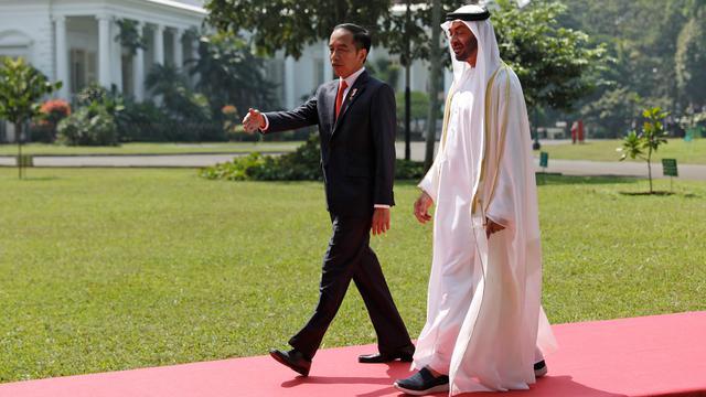 Jokowi Gelar Pertemuan Bilateral dengan Putra Mahkota Abu Dhabi