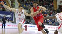 Los Angeles Clippers rekrut pemain baru asal Serbia, Milos Teodosic. (EPA/Sergei Ilnitsky)