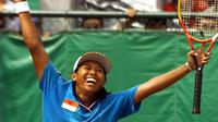 Petenis Indonesia, Yayuk Basuki. (AFP/Torsten Blackwood)