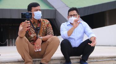 Wakil Ketua DPR RI Bidang Korkesra Abdul Muhaimin Iskandar (Gus Muhaimin) di Gedung DPR/MPR, Senayan, Jakarta, Rabu (16/6).