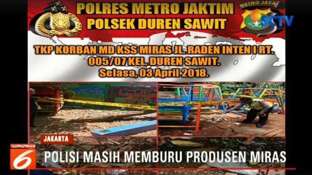 Korban tewas akibat mengkonsumsi minuman keras oplosan di Jakarta Timur bertambah menjadi 13 orang.
