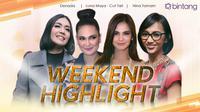 HL Weekend Highlight Denada, Luna Maya - Cut Tari, Nina Tamam (Fotografer: Nurwahyunan/bintang.com , Andy Masela/Bintang.com)