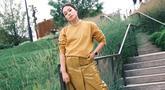 Selama di New York, Ayla Dimitri pun membagikan gaya berpakaiannya di Instagram. Di setiap postingannya, wanita berusia 34 tahun ini pun nampak stylish. (Liputan6.com/IG/ayladimitri)