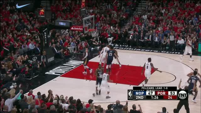 Berita video game recap NBA 2017-2018 antara New Orleans Pelicans melawan POrtland Trail Blazers dengan skor 111-102.