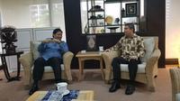 Dubes RI untuk Ukraina Yuddy Chrisnandi bertemu dengan Ketua Umum Partai Golkar Airlangga Hartarto (Istimewa)