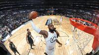 Aksi LeBron James di NBA All-Star 2018 (dok NBA)
