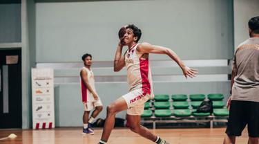 Usai Lebaran, Timnas Basket Indonesia Kembali Latihan GBK Arena