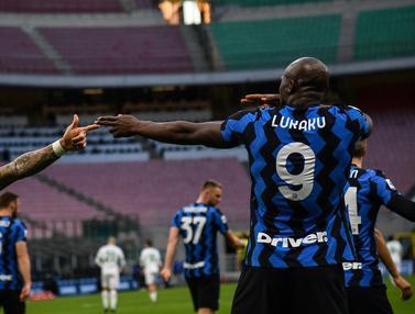 FOTO: 4 Pencetak Gol Terbanyak Sementara Inter Milan di Liga Italia Musim Ini