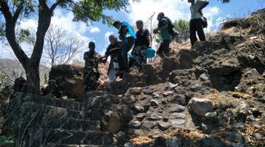 Gunung Ile Lewotolok Status Waspada