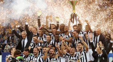 Juventus Rayakan Gelar Serie A ke-31