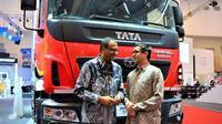 Tata Prima 3123.T meluncur Gaikindo Indonesia International Auto Show (GIIAS) 2019. (Oto.com)