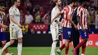Atletico Madrid Vs Real Madrid (AFP / Javier Soriano)