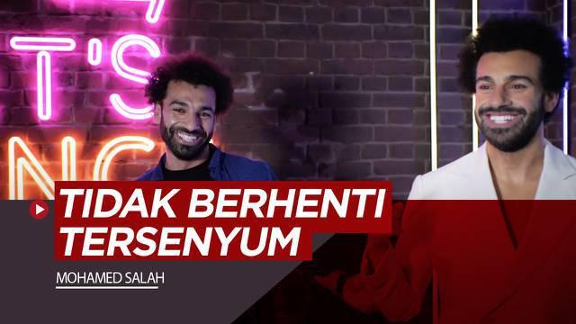 Berita video reaksi Mohamed Salah saat melihat kembarannya di Museum Madam Tussauds