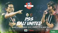 Shopee Liga 1 - PSS Sleman Vs Bali United - Head to Head Pelatih (Bola.com/Adreanus Titus)