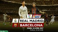 La liga_Real madrid vs Barcelona_Head to Head (Bola.com/Fauzan Akhdan)