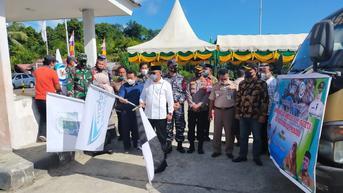 Perdana, KKP Lepas Ekspor Gurita Beku dari Simeuleu Aceh ke Jepang