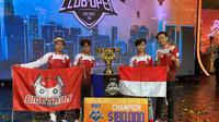 Bigetron, tim asal Indonesia, berhasil menjuarai PUBG Mobile Club Open 2019 Global Final yang digelar di Kuala Lumpur, Malaysia, pada 29 November hingga 1 Desember 2019. Bigetron menjadi yang terbaik dari 16 tim dari seluruh dunia. (Istimewa)