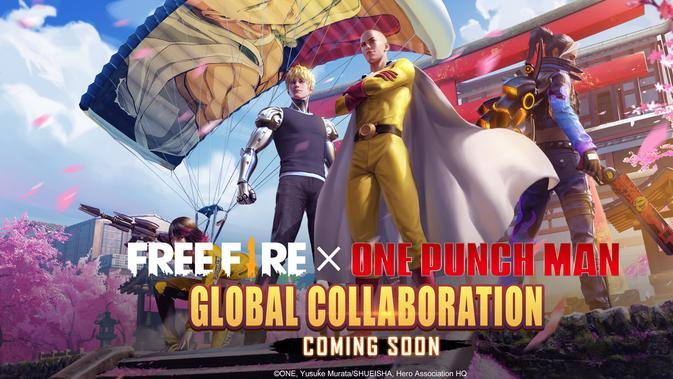 Free Fire x One-Punch Man (Foto: Garena)