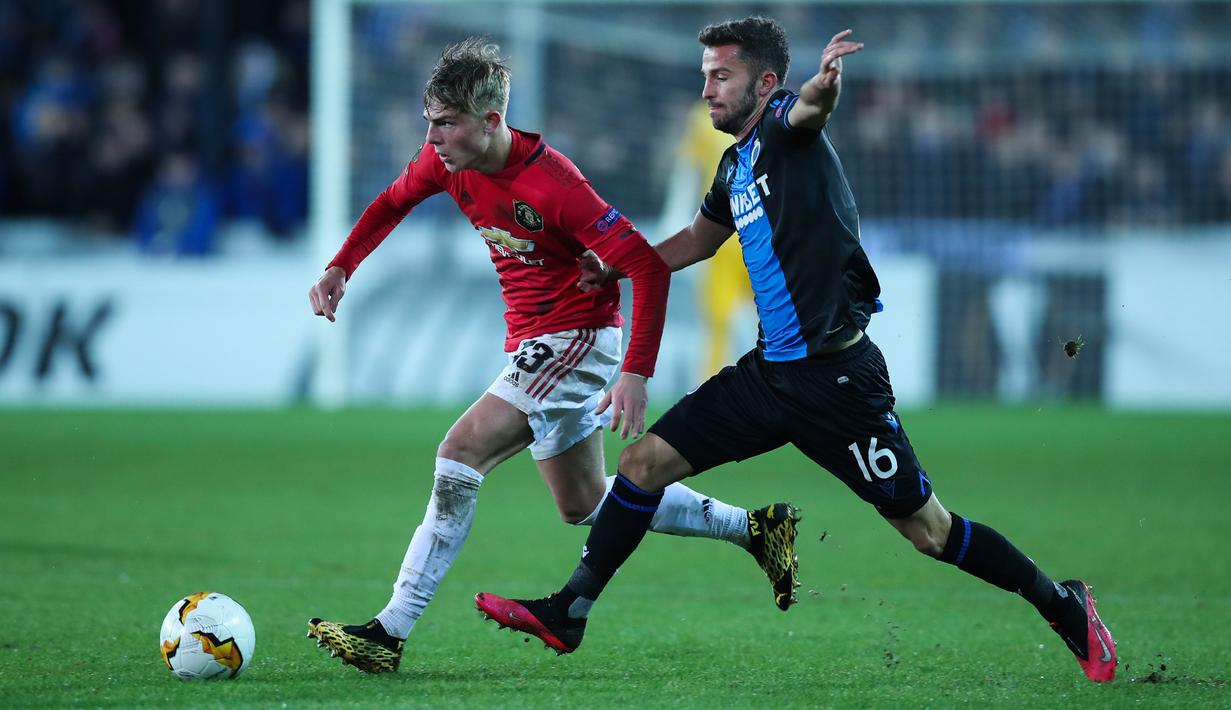 FOTO Manchester United Diimbangi Club Brugge Bola
