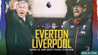 Premier League - Everton Vs Liverpool - Head to Head Pelatih (Bola.com/Adreanus Titus)
