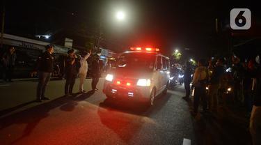Jenazah Laskar FPI Dibawa ke Rumah Duka di Petamburan